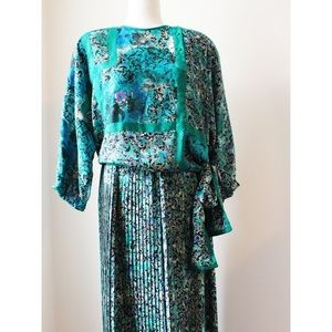 Vintage top and skirt set
